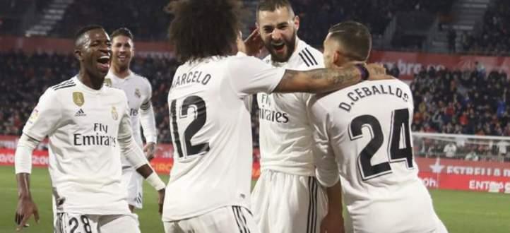 اهداف مباراة ريال مدريد وغيرونا الاربعة