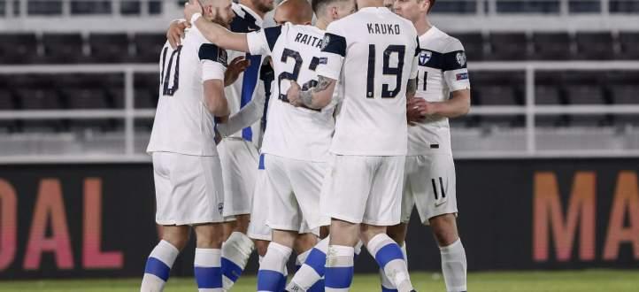 ابرز مجريات مباراة فنلندا مع البوسنة والهرسك