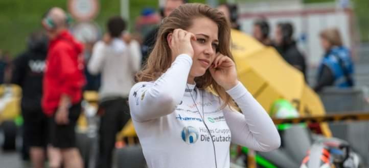 السائقة صوفيا فلورش تتعرّض لحادث خطير في سباق ماكاو