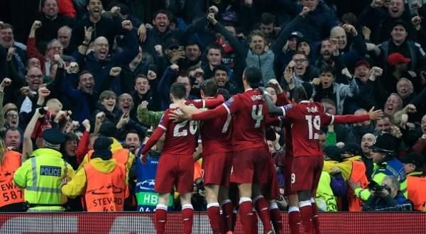 اهداف مباراة ليفربول ومانشستر سيتي في اياب ربع نهائي الابطال