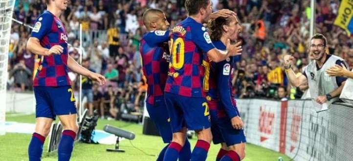 اهداف مباراة برشلونة وريال بيتيس السبعة