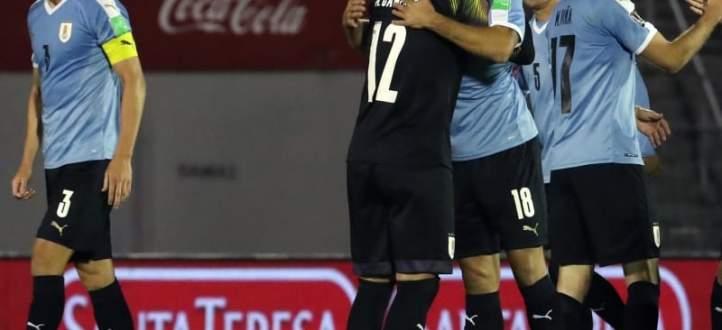 اهداف مباراة التشيلي والاوروغواي في تصفيات كاس العالم