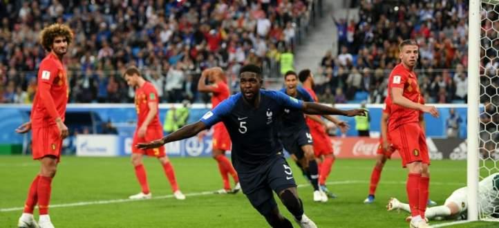 تقرير سريع: فرنسا 1 بلجيكا 0