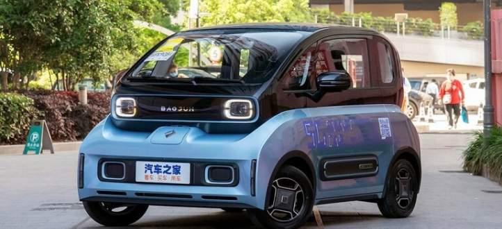 شركة صينية تنتج سيارة صغيرة لمنع الازدحام