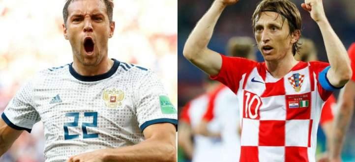 مونديال روسيا 2018 : كرواتيا في مواجهة روسيا