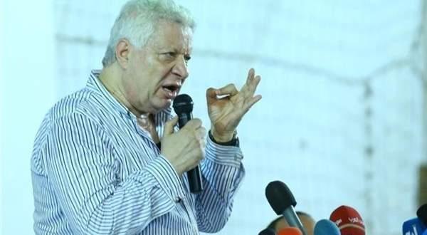 مرتضى منصور يوجه رسالة إلى السيسي بشأن أزمة نادي الزمالك