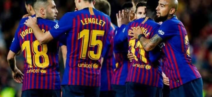 هدفا برشلونة في مرمى فياريال
