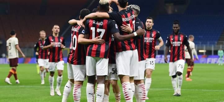 اهداف مباراة ميلان وروما في الدوري الايطالي