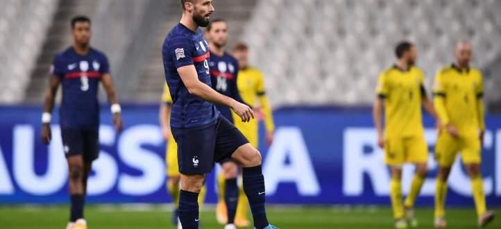 اهم مجريات مباراة فرنسا - السويد