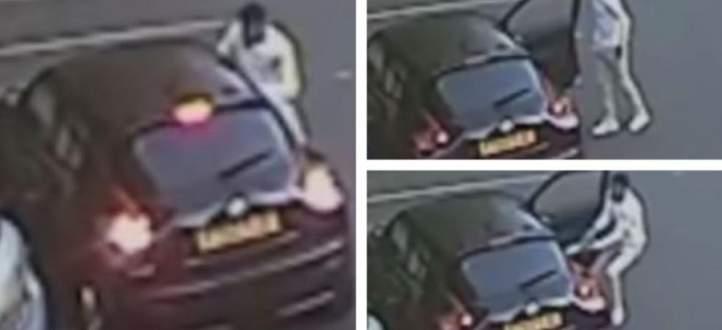 لاعب استون فيلا السابق يعتدي على امرأة في موقف في برمينغهام