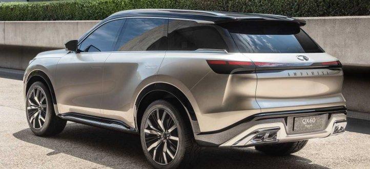 شركة Infinity تكشف عن سيارة QX60