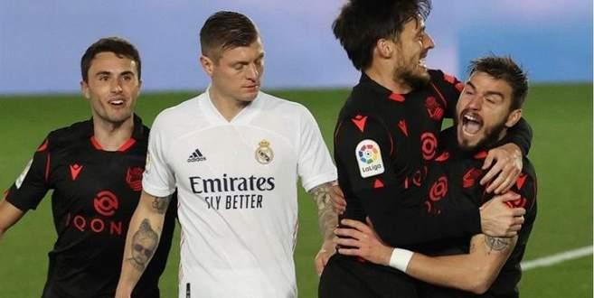 إحصاءات من مباراة مدريد - سوسييداد