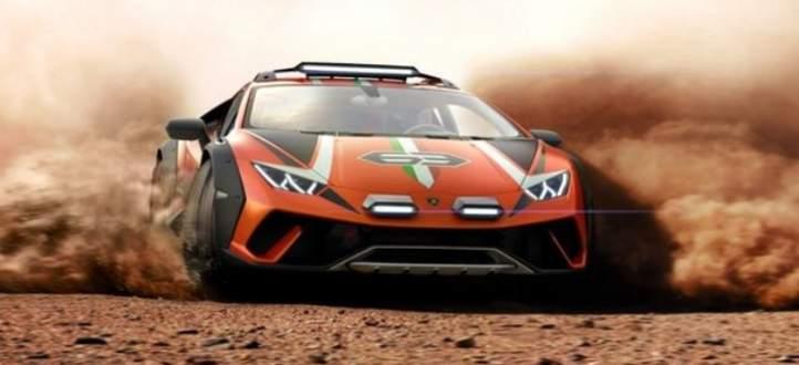 سيارة رياضية للطرقات الوعرة من لامبورغيني