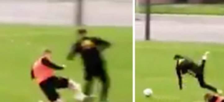 فيديو: تدخل عنيف من دي بروين على يانوزاي