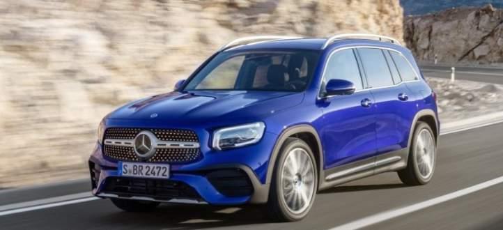 النموذج الجديد من Mercedes GLB
