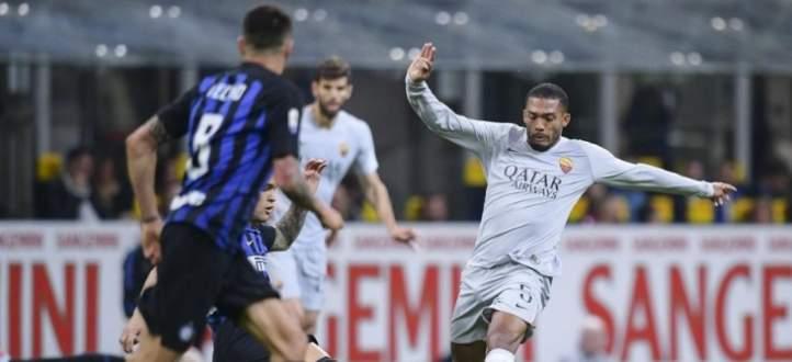 هدفا مبارة الإنتر وروما في الدوري الإيطالي
