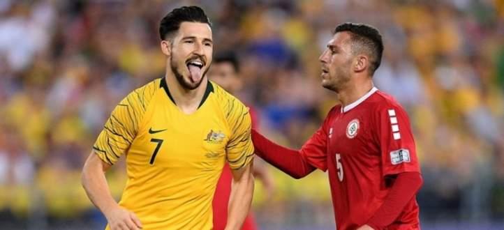ملخص مباراة أستراليا ولبنان