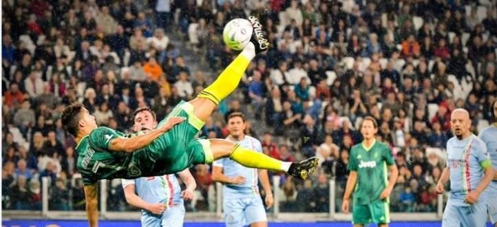 فيديو: أبرز لقطات المباراة الخيرية بين رونالدو وأساطير الدوري الإيطالي