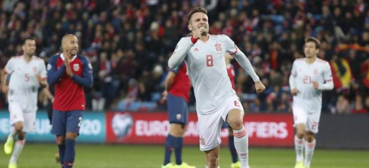 هدفا مباراة اسبانيا والنروج في تصفيات يورو 2020