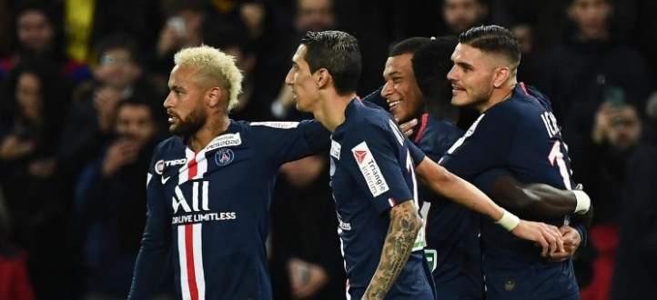 اهداف مباراة باريس سان جيرمان وسانت ايتيان في كاس فرنسا
