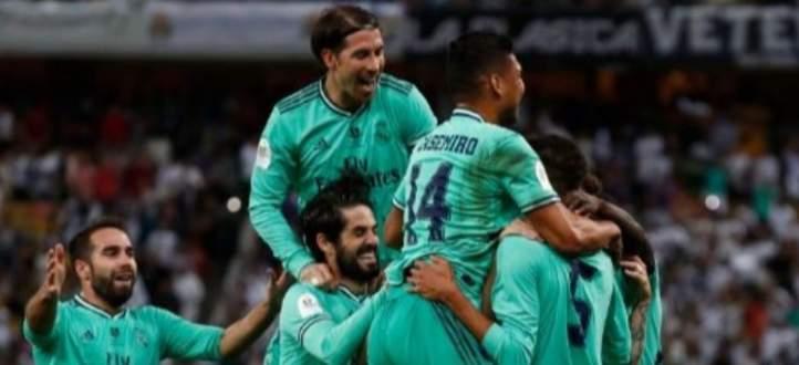 اهداف مباراة ريال مدريد وفالنسيا في كأس السوبر