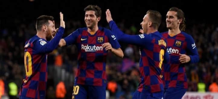 اهم مجريات مباراة برشلونة - سيلتا فيغو