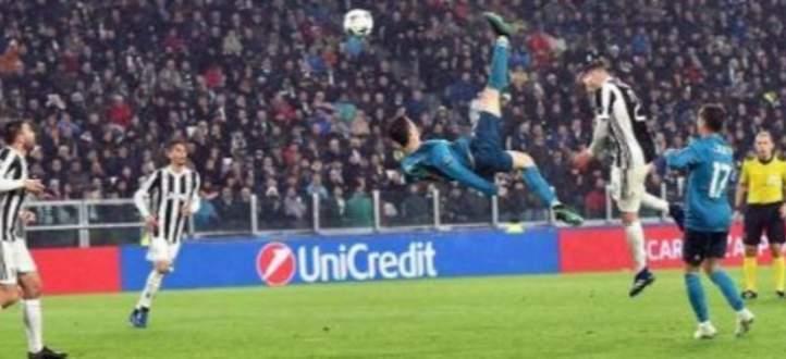 رونالدو سجل قبل عامين احد اجمل اهدافه في مرمى يوفنتوس
