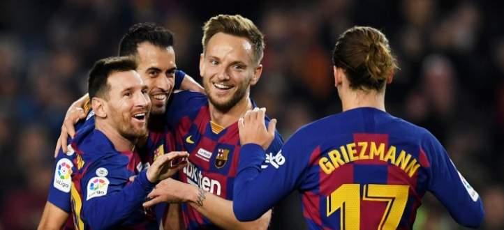 اهداف مباراة برشلونة وريال مايوركا في الدوري الاسباني