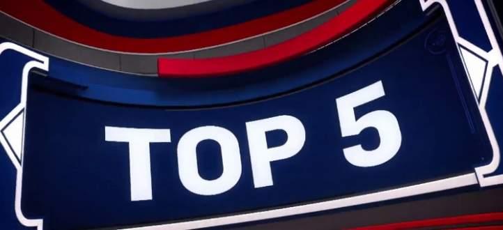 افضل 5 لقطات في مباريات 27 كانون الثاني في NBA