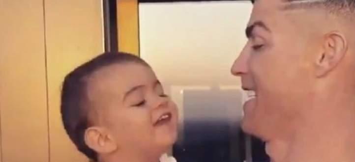 ابنة رونالدو تكشف عن الطعام الذي يغضب والدها