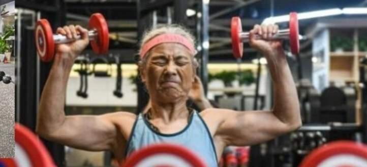 الجدة الصينية تبهر العالم