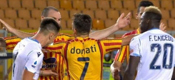 حادثة عض جديدة في الدوري الايطالي