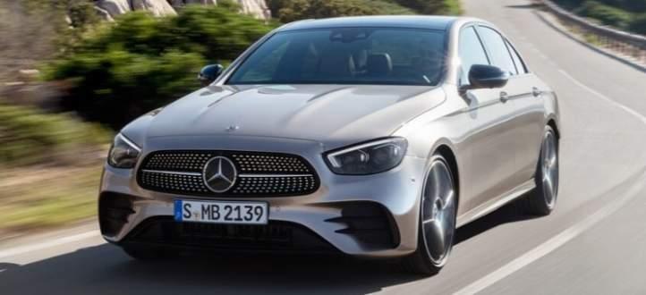 تعرف على النموذج الجديد من سيارات الفئة E من مرسيدس