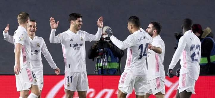 هدفا ريال مدريد في مرمى سيلتا فيغو