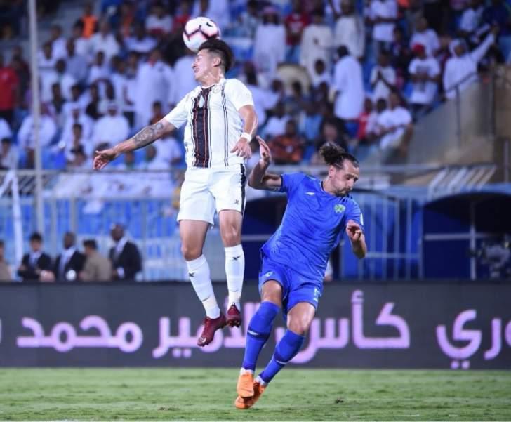 الدوري السعودي : تعادل الشباب والفتح