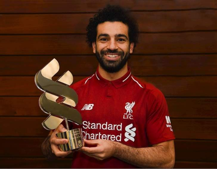 ماذا قال صلاح بعد الفوز بجائزة الشهر في ليفربول؟