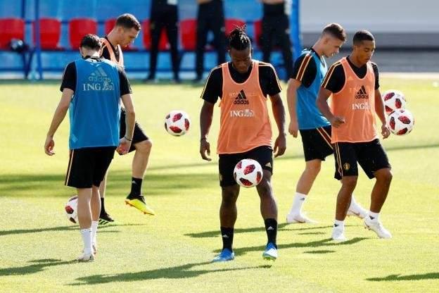 نجوم بلجيكا يغيبون عن التدريبات قبل يومين على مواجهة انكلترا