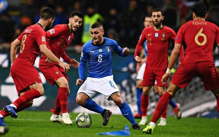 البرتغال اول المتأهلين بتعادلها امام الاتزوري وهبوط بولندا