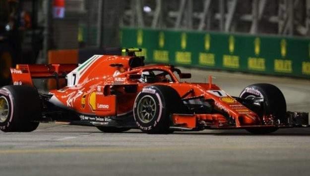رايكونن يحقق الزّمن الأسرع في التجارب الحرّة الثانية لسباق سنغافورة