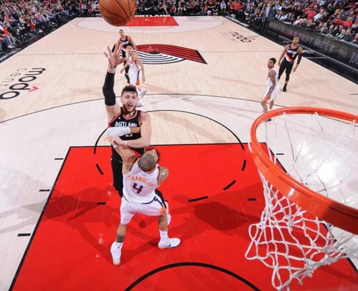 NBA : بورتلاند ترايل بلايزر يفوز على فينكس صانز