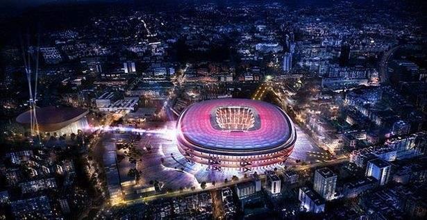 برشلونة يعتزم تغيير اسم ملعبه