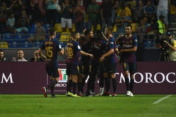 برشلونة بطلاً لكأس السوبر الاسباني امام اشبيلية العنيد