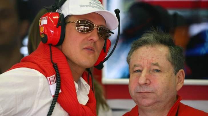جان تود : شاهدت سباق البرازيل الى جانب مايكل شوماخر