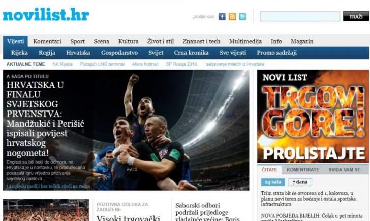 جولة على الصحف الكرواتية الصادرة اليوم