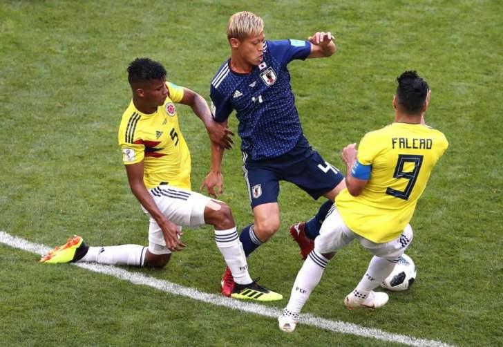 هوندا يدخل تاريخ اللاعبين الآسيويّين في كأس العالم