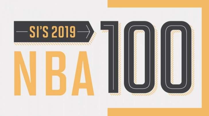 قائمة افضل لاعبي الدوري الاميركي من المرتبة 100 الى المرتبة 50