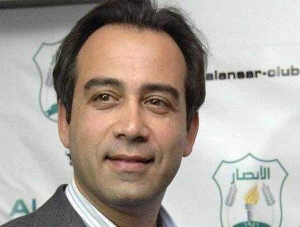 نبيل بدر يعتكف عن حضور جلسات اللجنة الادارية لنادي الانصار