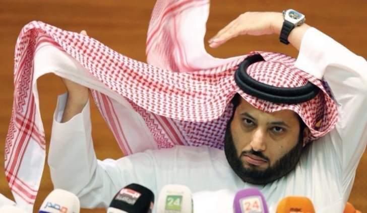 تركي آل الشيخ يرد على نواف العابد
