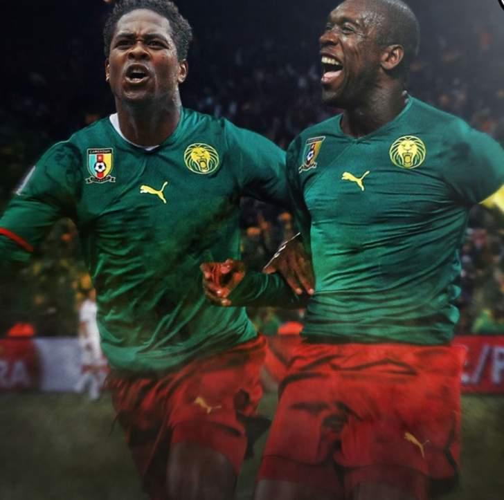 نجما الكرة الهولندية يقودان الكتيبة الكاميرونية