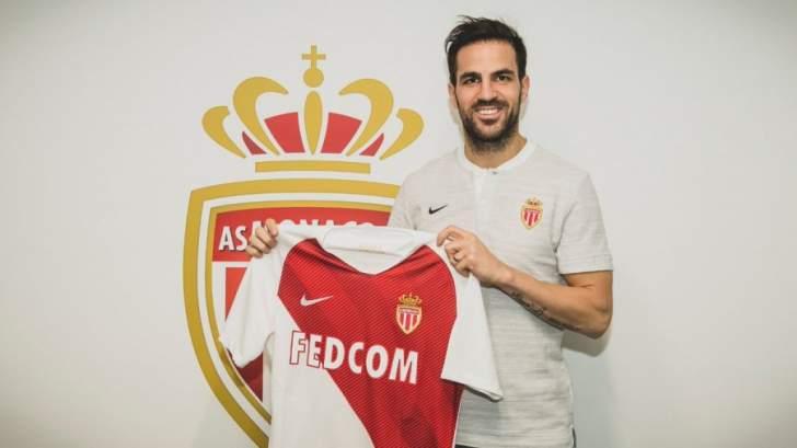الكشف عن رقم قميص فابريغاس مع موناكو